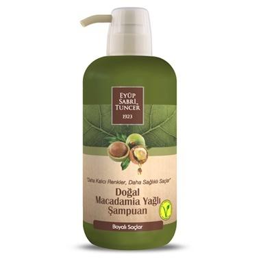 Eyüp sabri tuncer Eyüp Sabri Tuncer Şampuan Macadamia Yağlı Boyalı Saçlar İçin 600 Ml Renksiz